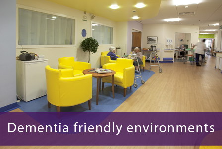 Dementia friendly ward environment at Sedgemoor Ward, Musgrove Park Hospital, Taunton