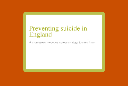 Preventing suicide in England