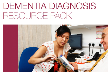 Feature dementia diagnosis resource pack