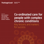 Co-ordinated care for people with complex chronic conditions: Key lessons and markers for success