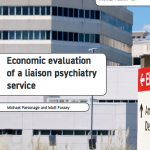 Economic evaluation of a liaison psychiatry service