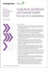 Long-term conditions and mental health