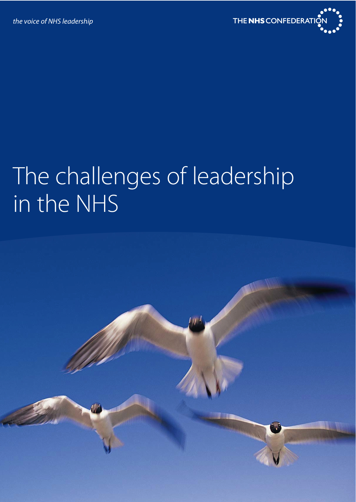 """The challenges of leadership in the NHS"""""""