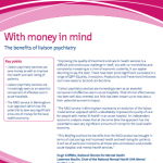 With money in mind: the benefits of liaison psychiatry