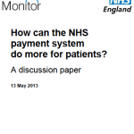 How can the NHS payment system do more for patients?