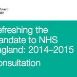 Refreshing the Mandate to NHS England: 2014 - 2015