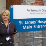 Clinical Matron, Jaqui Guile, improving diabetes care for inpatients in Solent