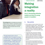 Developing effective holistic services for young people